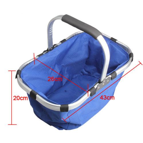 Складная водонепроницаемая сумка-корзина для пикника