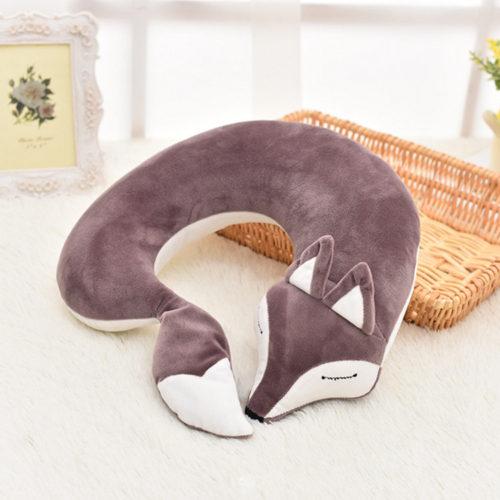 U-образная подголовник-подушка для шеи Лиса