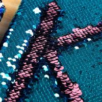 Блокнот с пайетками, которые меняют цвет