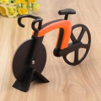 Нож резак для пиццы в виде велосипеда