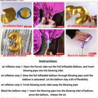 Детские алюминиевые воздушные шарики в виде животных