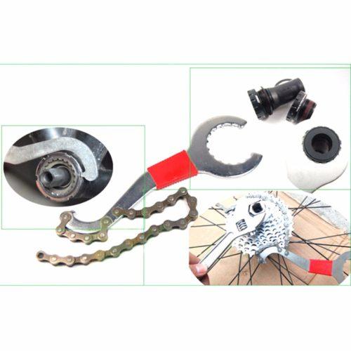 Ключ для замены велосипедной кассеты с хлыстом