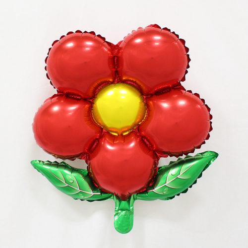 Воздушные алюминиевые шары в виде цветов