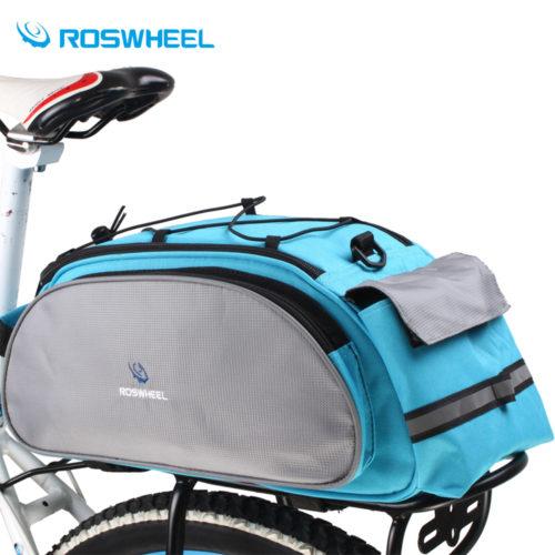 ROSWHEEL Велосипедная многофункциональная сумка на багажник