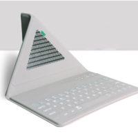 Ультратонкий Bluetooth чехол для iPad с клавиатурой
