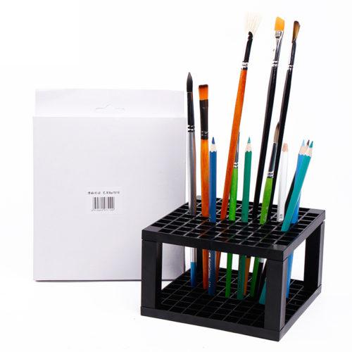 Подставка с 96 отверстиями для карандашей и кистей
