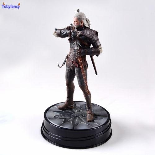 Игрушечная коллекционная фигурка Геральта 19 см из Ведьмака The Witcher