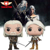 Игрушечные коллекционные фигурки героев Ведьмака The Witcher Геральт и Цири