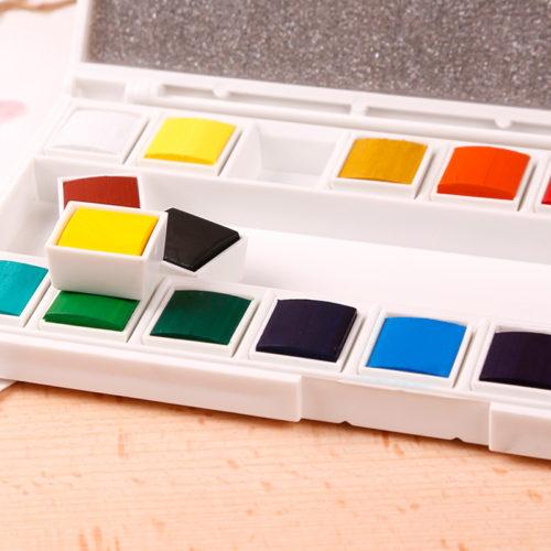 Maries набор для рисования акварелью