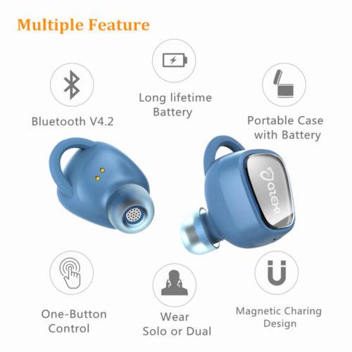 Беспроводные спортивные Bluetooth наушники Azexi Air66