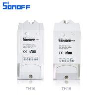 Беспроводной WiFi выключатель термостат Sonoff TH 10/16