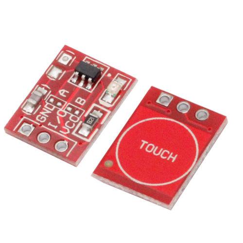 Модуль сенсорной кнопки выключатель TTP223 10 шт.