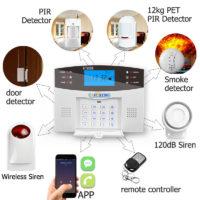 Earykong беспроводная охранная GSM сигнализация 433 мГц с дистанционным пультом управления