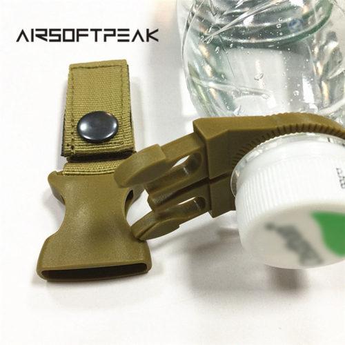 Карабин для крепления бутылки на стропу MOLLE или на ремень