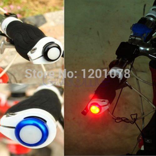 Заглушки на руль велосипеда со светодиодом