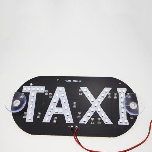 Табличка такси со светодиодной подсветкой