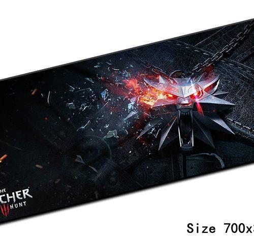 Большой коврик для компьютерной мыши (длина 70 см) по мотивам Ведьмака/The Witcher