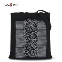 Тканевая эко-сумка шоппер для покупок с логотипом Joy Division