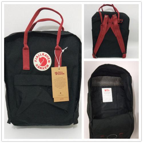 Женский и мужской водонепроницаемый тканевый рюкзак разных цветов (реплика Fjallraven Kanken)