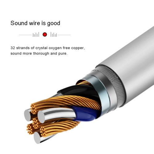 Allvcover наушники вкладыши с Type-C разъемом, микрофоном, регулятором громкости