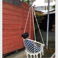 Подвесной круглый гамак-кресло качели