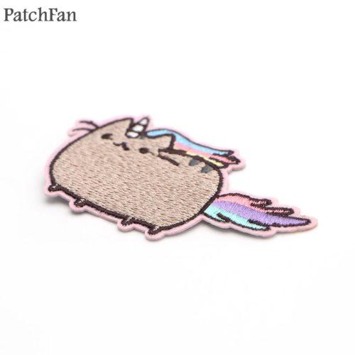 Нашивка патч на одежду Пушин Кэт (Pusheen cat)