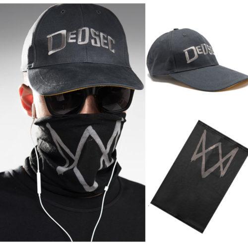 Кепка и маска Маркуса Холлоуэя из Watch Dogs 2