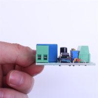 Плата управления для автоматического отключения аккумулятора от зарядного устройства по достижению заряда