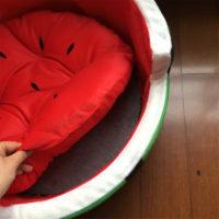 Лежанка в виде арбуза для кошек или собак