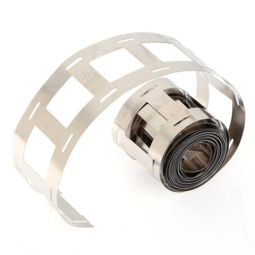 Никелевая лента для точечной сварки аккумуляторов 18650, 1 метр