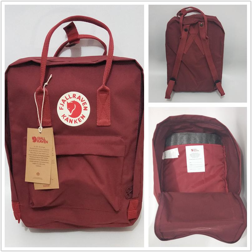 3ce224702b72 Женский и мужской водонепроницаемый тканевый рюкзак разных цветов (реплика  Fjallraven Kanken)