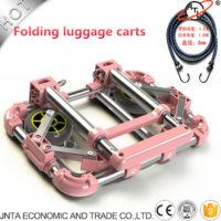 Складная тележка в багажник автомобиля для перевозки тяжелых грузов