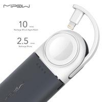 MIPOW Портативное зарядное устройство Power Bank для iPhone и Apple Watch 6000 мАч