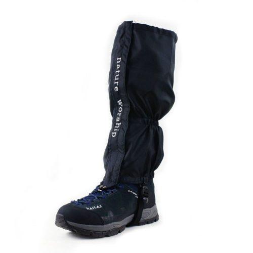Туристические водонепроницаемые гамаши фонарики на обувь
