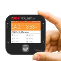Компактное зарядное устройство балансир ISDT Q6 мощностью до 300 Вт 14A