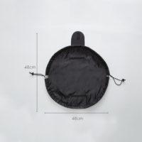 Большая затягивающаяся косметичка сумка на шнурке