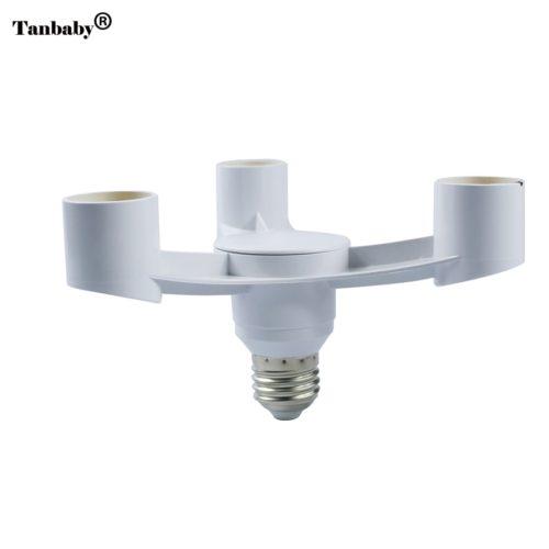 Цоколь E27 на три лампочки