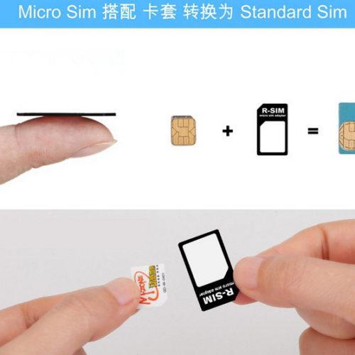Адаптер для нано и микро SIM карты 4 в 1