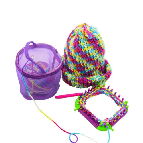 Нейлоновая сетчатая корзина для клубков для вязания
