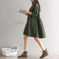 Осенние женские платья на Алиэкспресс - место 9 - фото 4