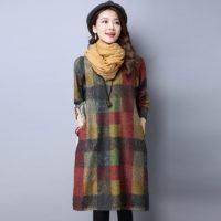Осенние женские платья на Алиэкспресс - место 5 - фото 4
