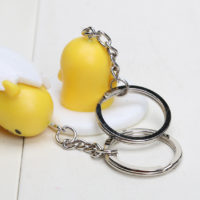 Набор из 6 брелоков на ключи с Ленивым желтком Gudetama
