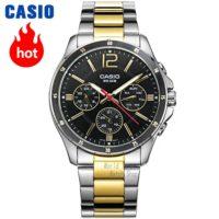 CASIO WR 50M Часы наручные мужские водонепроницаемые кварцевые