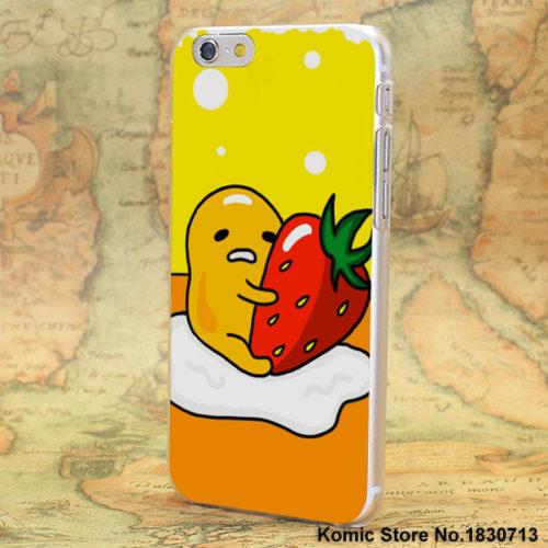 Чехол на айфон iPhone с Ленивым желтком Gudetama