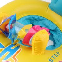 Двойной надувной круг для ребенка и взрослого
