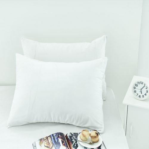 Водонепроницаемые белые наволочки для подушки 2 шт.  50×70 см