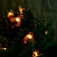 Светодиодная гирлянда с лампочками Пчелами на батарейках 1/2/3/5 м