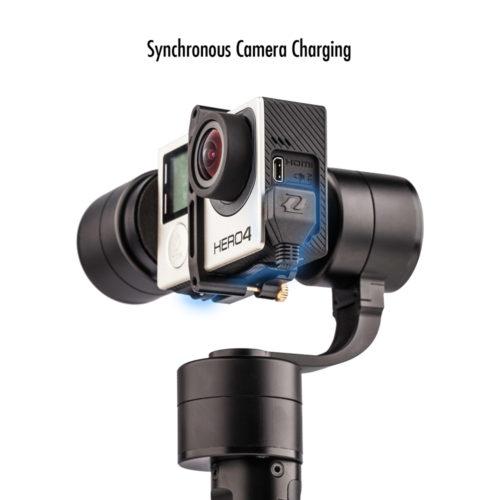 Zhiyun Evolution трехосевой  карданный стабилизатор для экшн-камер
