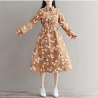 Осенние женские платья на Алиэкспресс - место 3 - фото 3