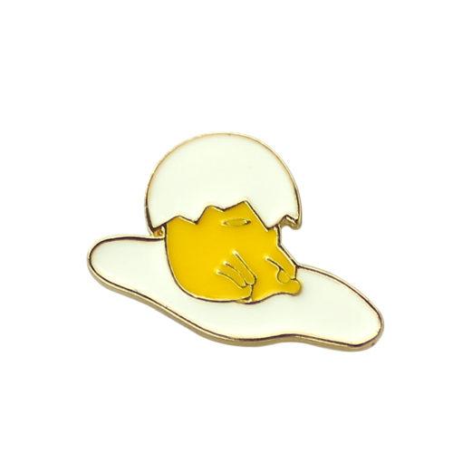 Броши значки в виде Ленивого желтка Gudetama